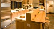 Modern kitchen and home by Dakan Enterprises.